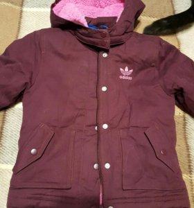 Куртка парка детская Adidas