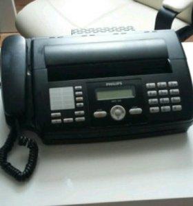 Телефон с факсом и копиром philips HFC-325 HFC325