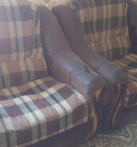 Кресла 2 шт раскладные