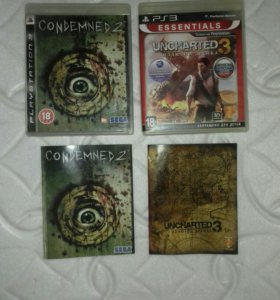Игры ps3 condemned 2 и uncharted 3