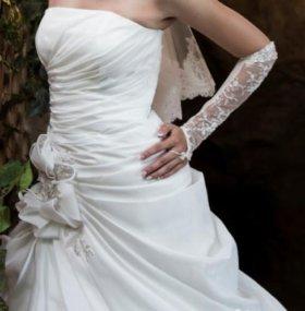 Свадебное платье европейский стиль