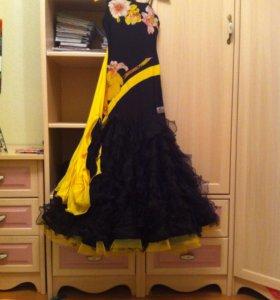 Платье для бальных танцев Ю1 Стандарт