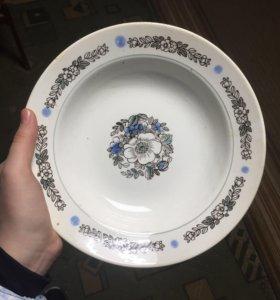 Красивые фарфоровое тарелочки