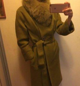 Тёплое зимнее пальто