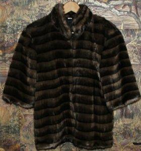Куртка-жакет искусственный мех (под норку) новый