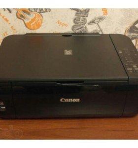 Принтер Canon Pixma MP28O Полностью рабочий.