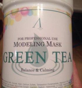 Маска альгинатная с экстрактом зеленого чая