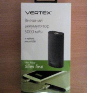 """VERTEX """"Внешний аккумулятор"""""""