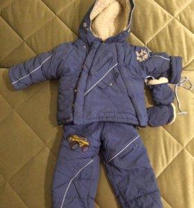 Зимние куртка и полукомбинезон
