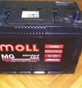 Аккумулятор MOOL, 12V, 110Ah, ASIA