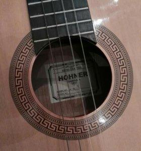 ПолуПрофессиональная Акустическая гитара Hohner 06