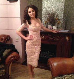 """Кружевное платье """"Elisabetta Franchi"""""""