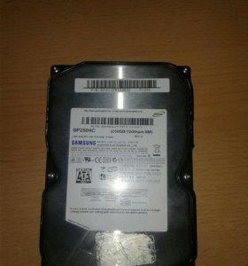 Жесткий диск Samsung 250GB Sata