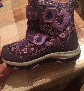 Детские зимние ботинки 32