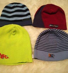 4 шапки на мальчика