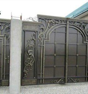 Ворота двери