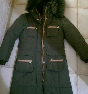 Зимнее пальто 134 р