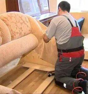 Перетяжка мягкой мебели, реставрация автомобильных
