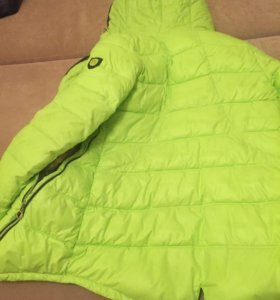Салатовая курточка с ушками