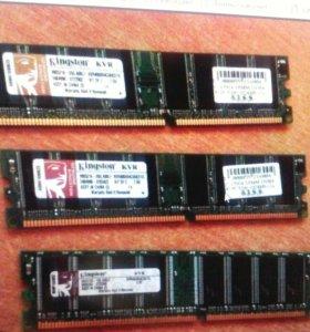 Оперативная память на 1 ГБ для ПК ddr1 /2