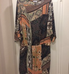 Платье с напуском новое
