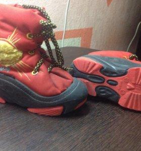Ботинки непромокаемые