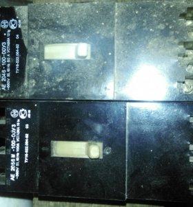 Автоматический выключатель ае 2056 м-100 новые