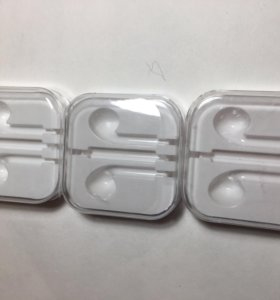 Коробки от наушников Apple(не оригинал)цена за всё