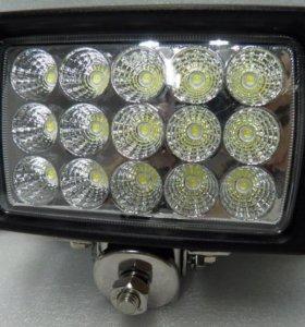 Прямоугольная светодиодная LED фара рабочего света