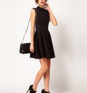 Новое черное платье Warehouse