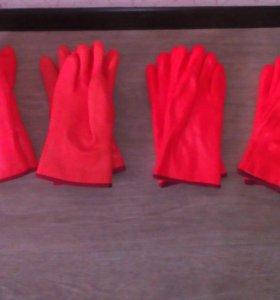 Перчатки рабочие.