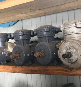 Электродвигатели АИР80а4 1,1квт  1390об/мин.