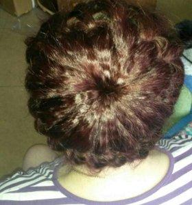 Плетение кос на праздничные мероприятия