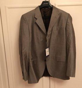 Костюм мужской пиджак + брюки размер 52