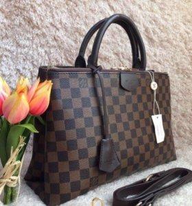Купить сумки Louis Vuitton Луи Витон Брендовые кожаные