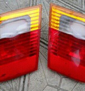 Задние фонари на крышку багажника BMW 3 серия E46