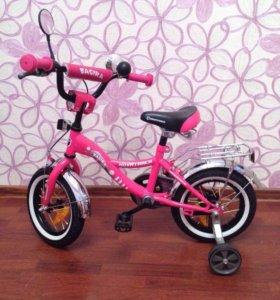 Новый детский велосипед!