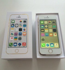 Новый iPhone 5s Gold 16 GB