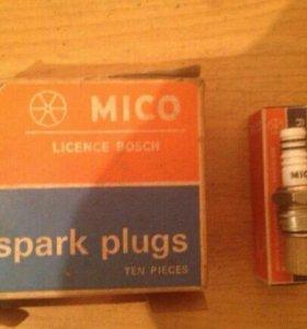 Мото свечи Mico LIC. bosch W95T1 india 151 W10A