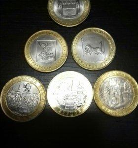Монеты биметал мешковые