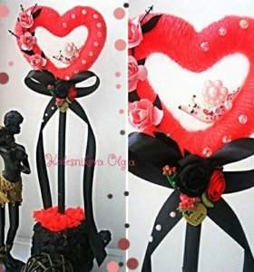 Подарок на день влюблённых.14 февраля.сердце