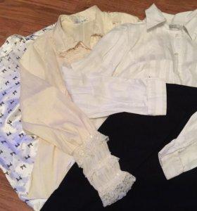 Блузка и юбка для офиса пакетом