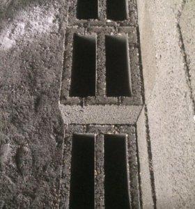 Блок строительный стеновой керамзит мура