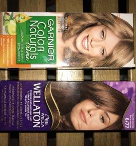 Краска для волос Wellaton и Color Naturals