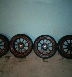 Продам комплект колес, 16 радиус разболтовка 4*98