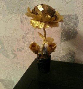 Топиарий роза