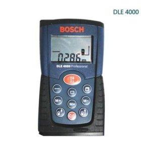 Лазерный дальномер Bosch DLE 4000