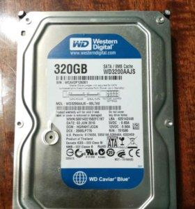 Жесткий диск WD 320 GB
