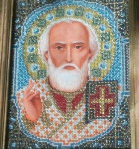 Иконы алмазная живопись и иконы бисером