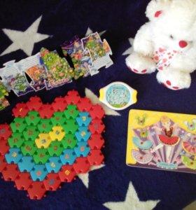 Набор игрушек для девочки